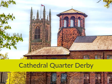 Cathedral Quarter Derby graphic design based in derbyshire Our clients Cathedral Quarter Derby OW Main 360x272 3