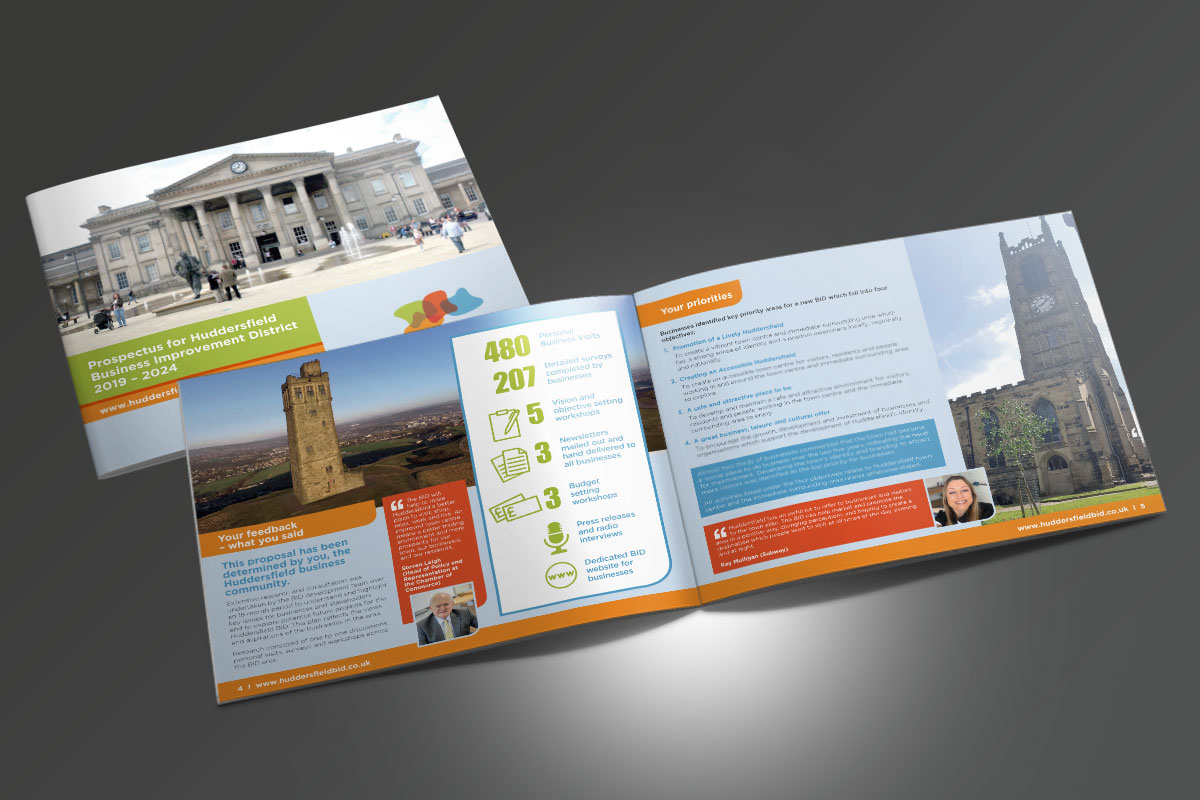 Partnerships for Better Business Ltd Huddersfield BID Prospectus v2