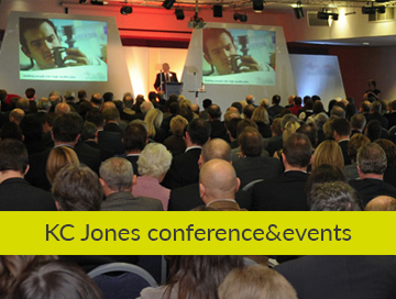 KC Jones conference&events graphic design based in derbyshire Our clients KC JONES OW Main 360x272 1