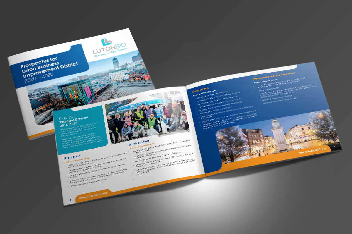 Partnerships for Better Business Ltd Luton BID Proposal v1