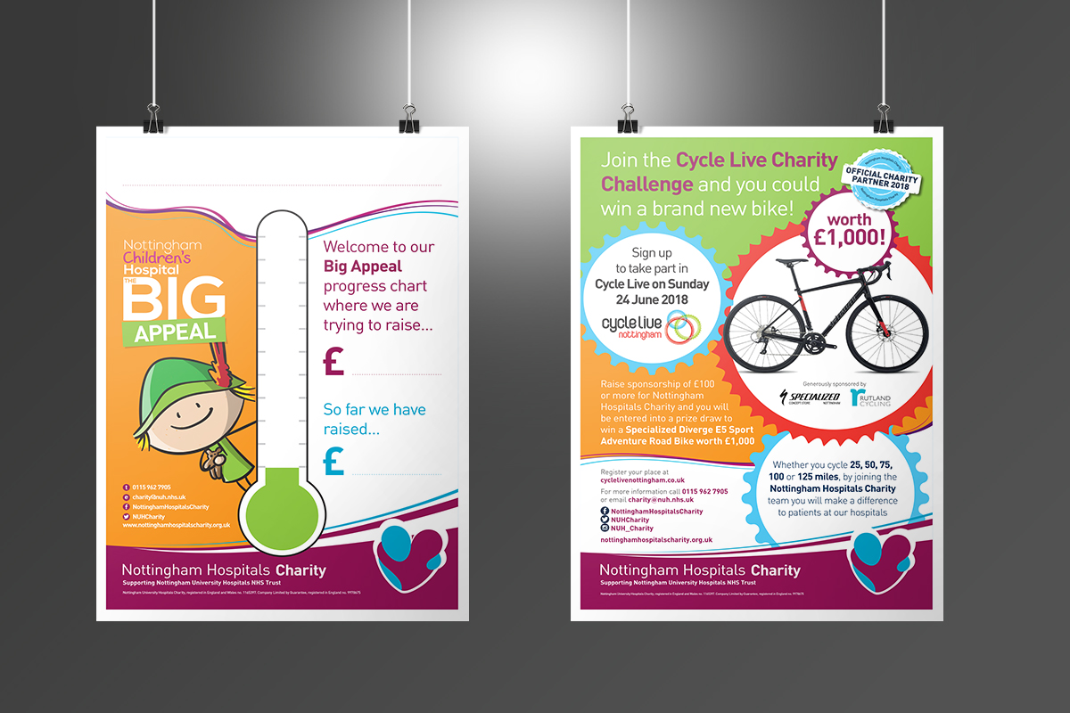 [object object] Nottingham Hospitals Charity NHC Big Appeal Posters v2