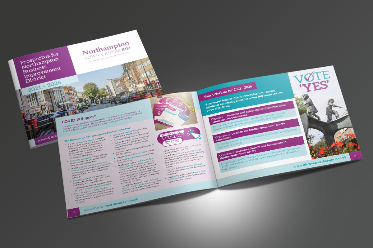 Partnerships for Better Business Ltd Northampton BID Prospectus 2020