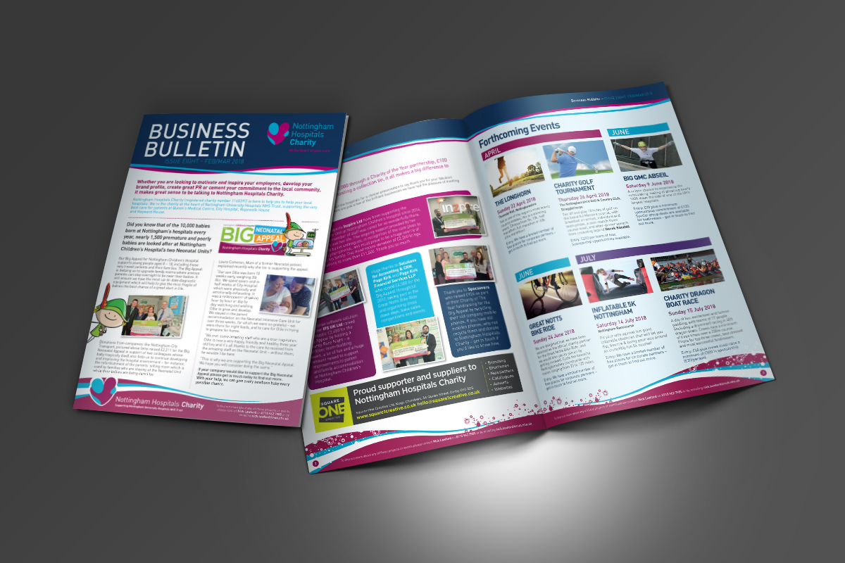 [object object] Nottingham Hospitals Charity Notts Hospital Charity Business Bulletin Issue 8
