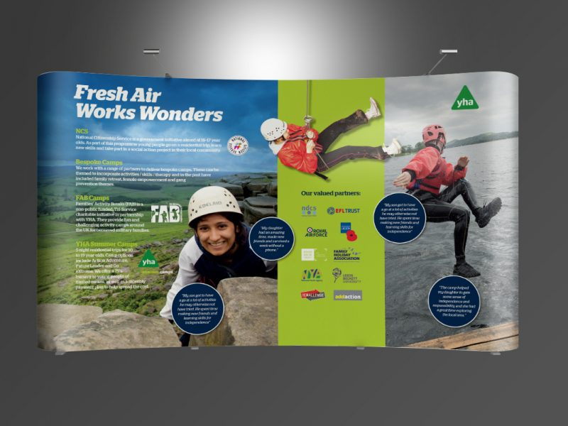 YHA Twist Stands  Exhibitions & Banners YHA Development Twist Stand v1 800x600