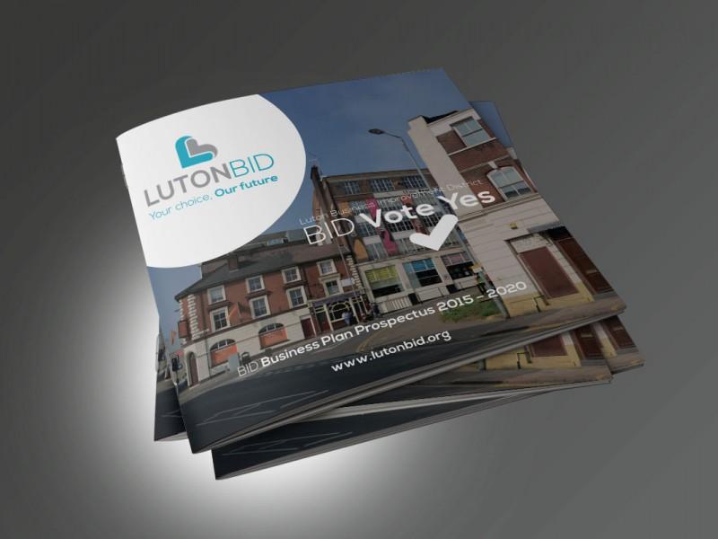 Luton BID prospectus  Prospectus & Catalogues Luton BID v1 800x600