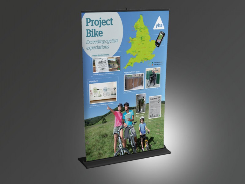 YHA Project Bike Stand  Exhibitions & Banners YHA Banner v1 800x600