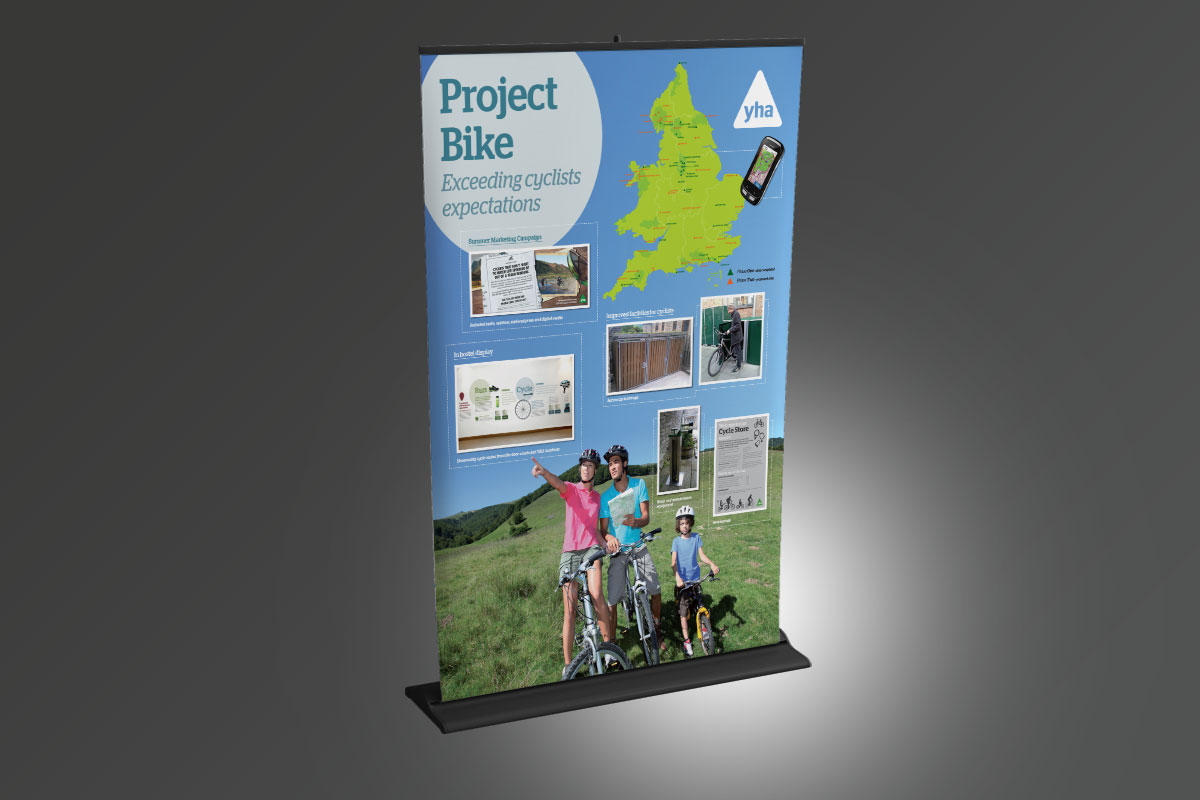 [object object] YHA Project Bike Stand YHA Banner v1