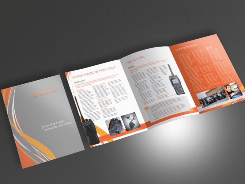Zycomm Roll Fold Brochure  Leaflets & Flyers Zycomm Brochure v1 800x600