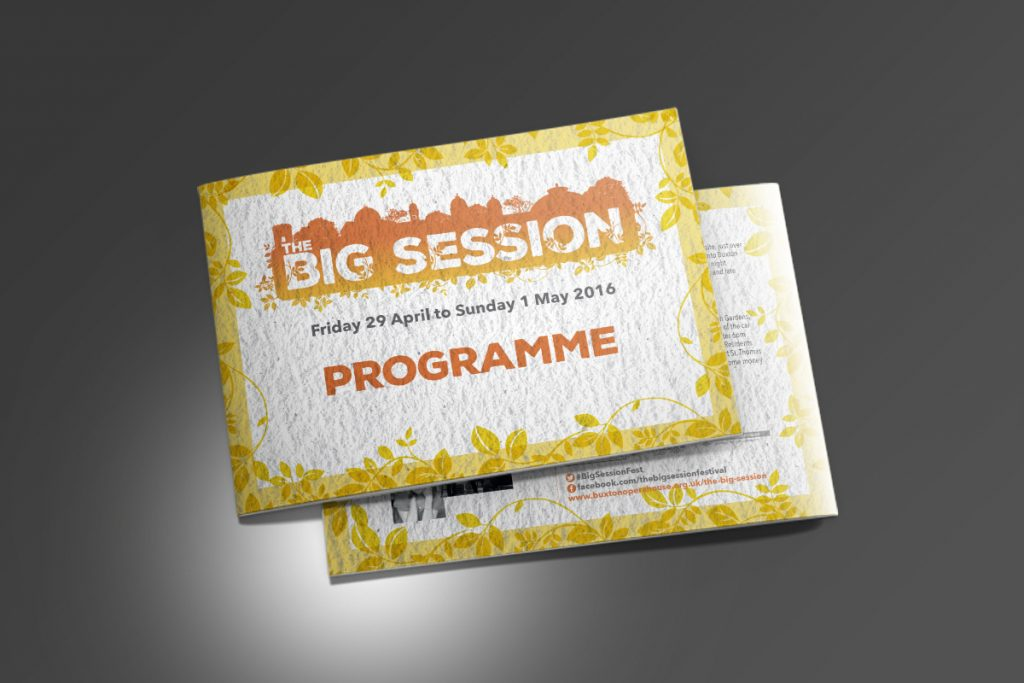Buxton Opera House Big Session Programme A5
