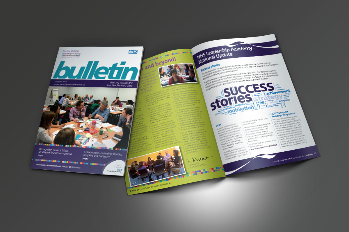 [object object] East Midlands Leadership Academy EMLA Bulletin Autumn 2016 v4