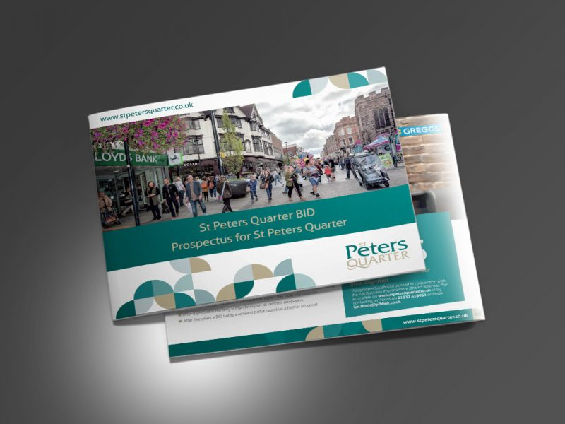 St Peters Quarter Re-ballot Prospectus 2016  Prospectus & Catalogues St Peters Quarter Renewal BID v1 800x600
