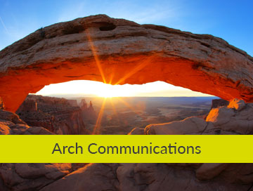 Arch Communications graphic design based in derbyshire Our clients Arch Communications OW Main 360x272