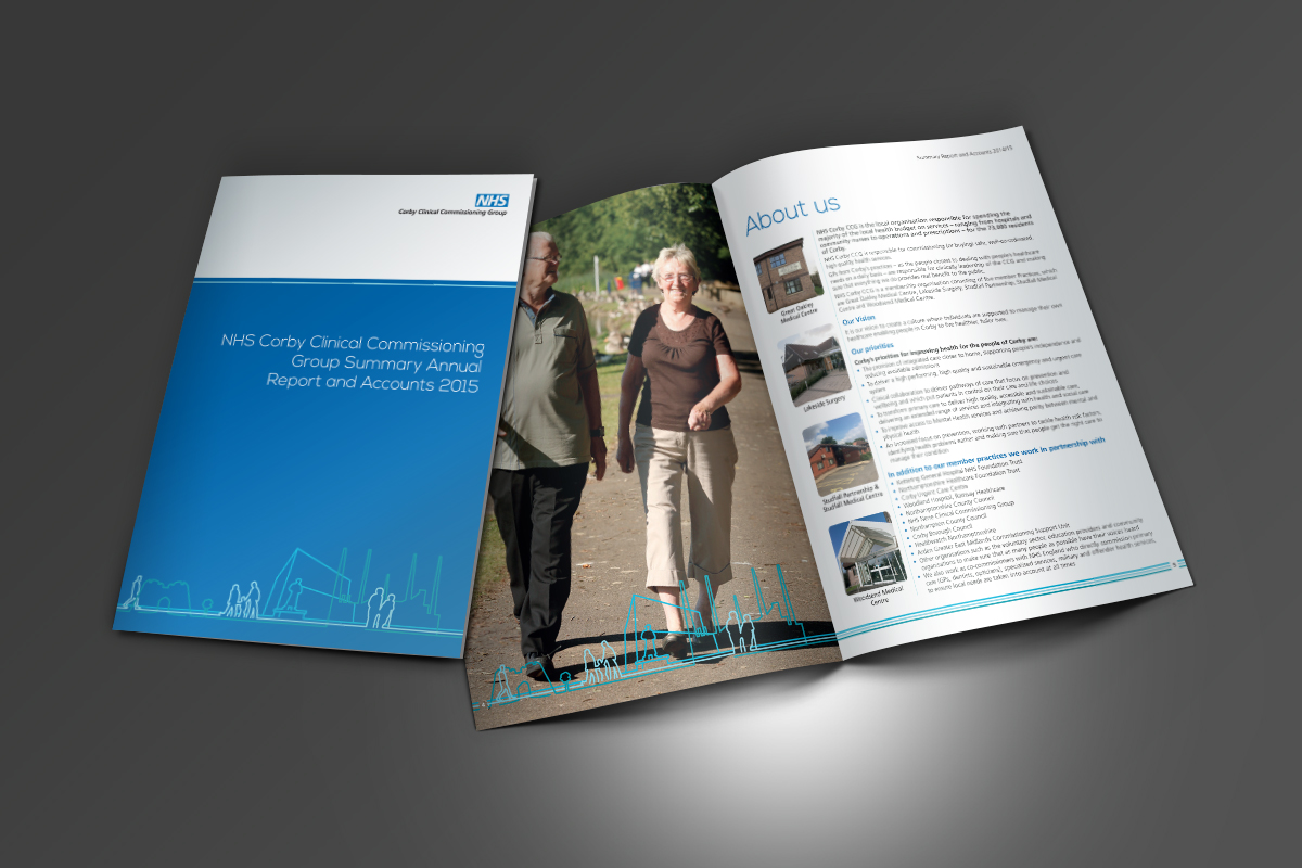 [object object] Arch Communications NHS Corby Annual Report 2015 v1