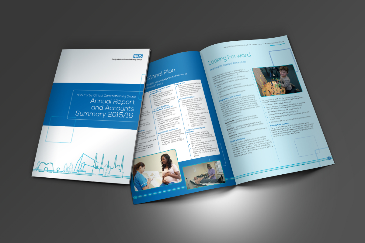 [object object] Arch Communications NHS Corby Annual Report 2016 v4