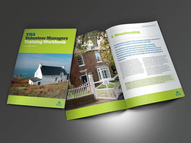 YHA Volunteer Managers Training Handbook 2015-16  Brochures YHA Volunteer Managers Training Workbook Brochures 800x600