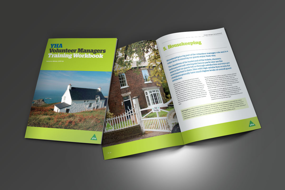 [object object] YHA Volunteer Managers Training Handbook 2015-16 YHA Volunteer Managers Training Workbook Brochures