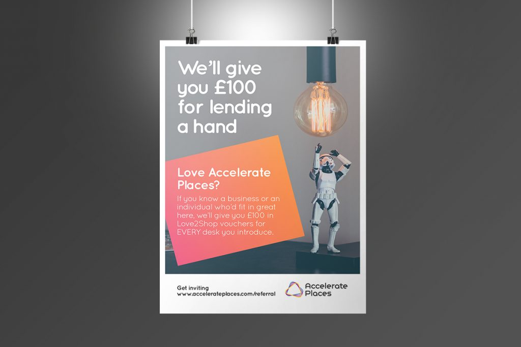 Accelerate Places Poster