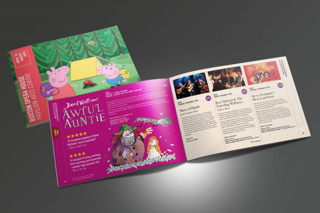 Buxton Opera House Season Brochure
