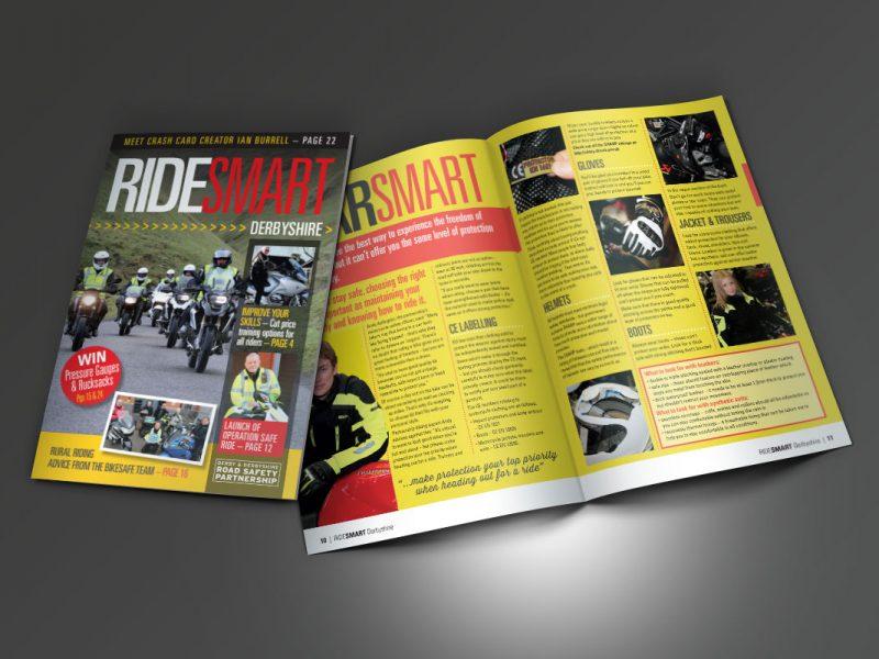Ride Smart Brochure  Brochures Derbyshire County Council Ride Smart Brochures 800x600