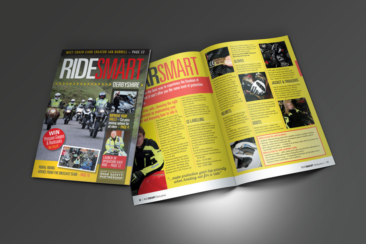 Ride Smart Brochure Derbyshire County Council Ride Smart Brochures