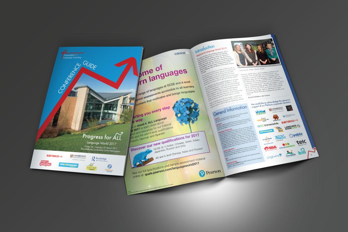 kc jones KC Jones conference&events KC Jones Language World 2017 Brochures