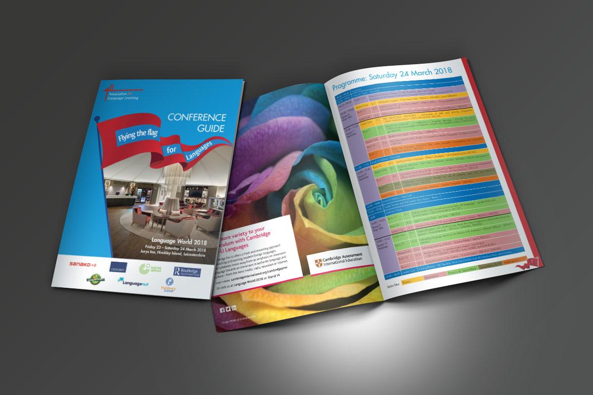 kc jones KC Jones conference&events KC Jones Language World 2018 Brochures