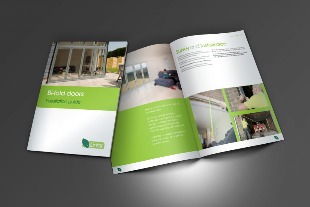 Liniar bi-fold doors brochure