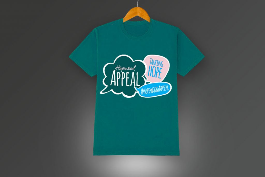 NHC Hopewood Appeal t-shirts