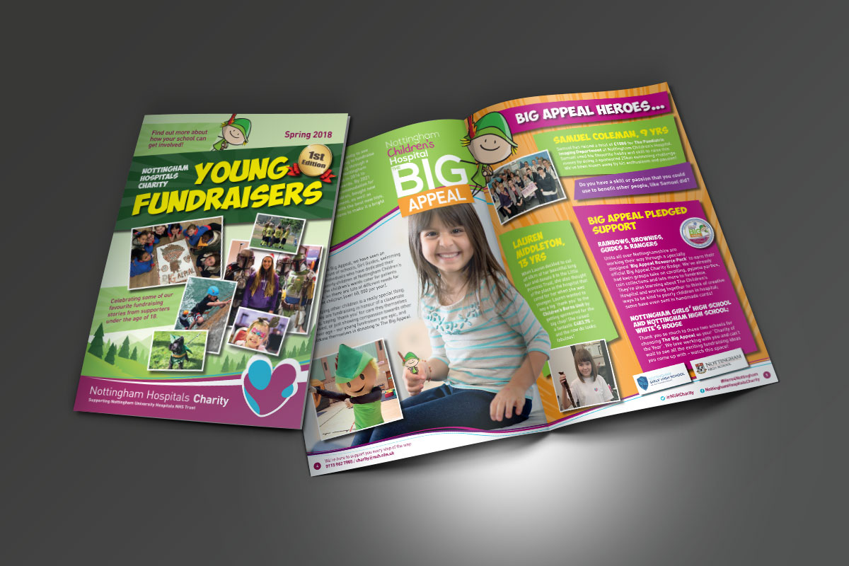 [object object] Nottingham Hospitals Charity NUH Young Fundraisers Charity Newsletter v1