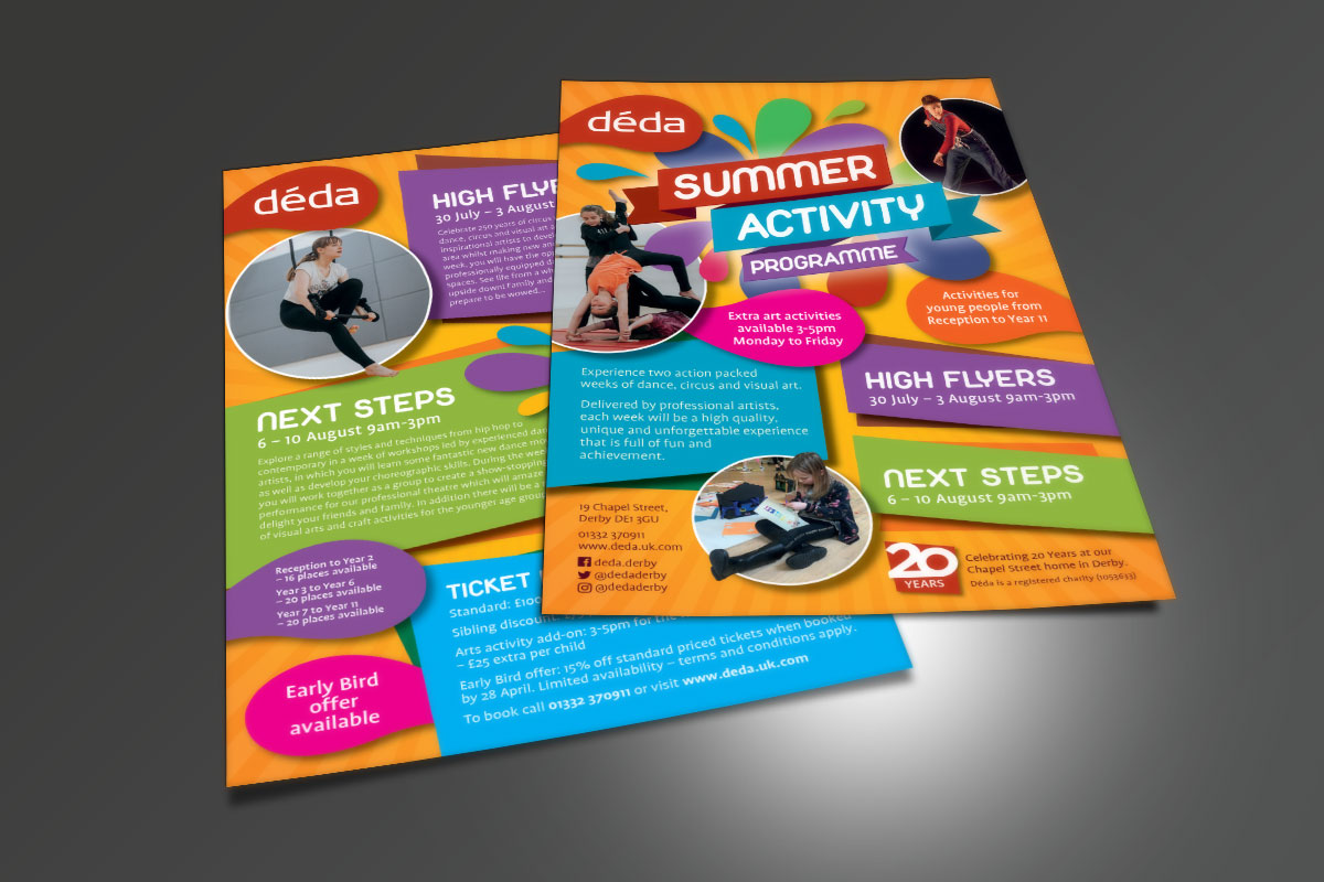 déda Déda Summer Activity programme deda Summer Activity A5