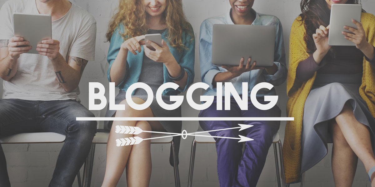 blogs Blogging is a waste of time…but read ours Blogging pic