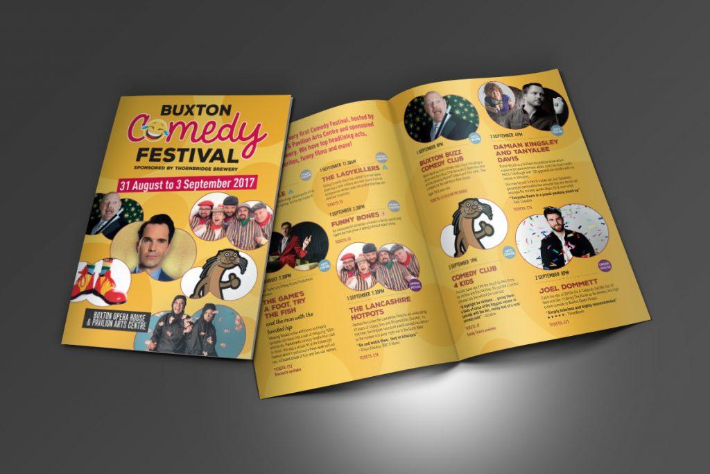 Buxton Opera House Comedy Festival Leaflet