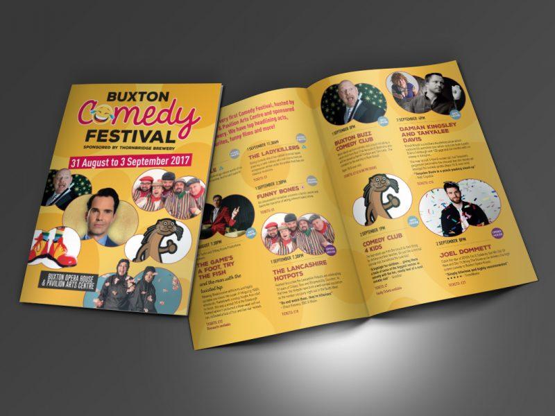 Buxton Opera House Comedy Festival Leaflet  Leaflets & Flyers BOH Comedy Festival Leaflet v1 800x600