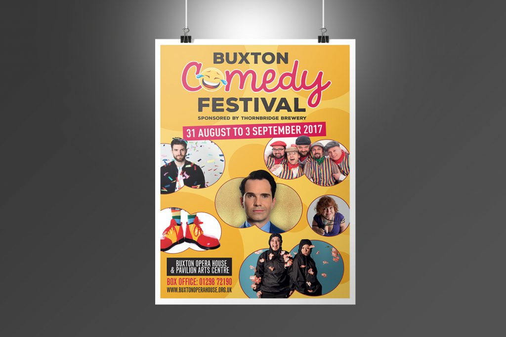 Buxton Opera House Comedy Festival Poster