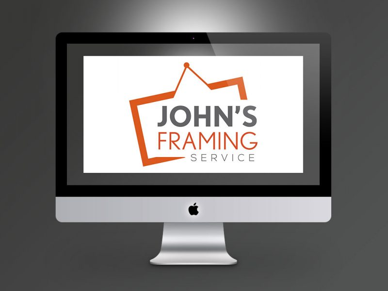Johns Framing Services  Branding Johns Framing Services 800x600