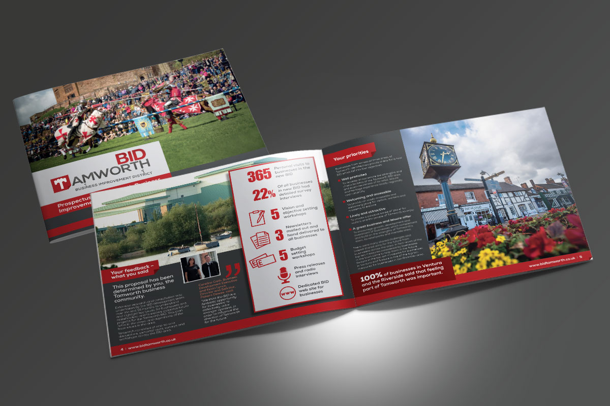 Partnerships for Better Business Ltd Tamworth BID Prospectus v2