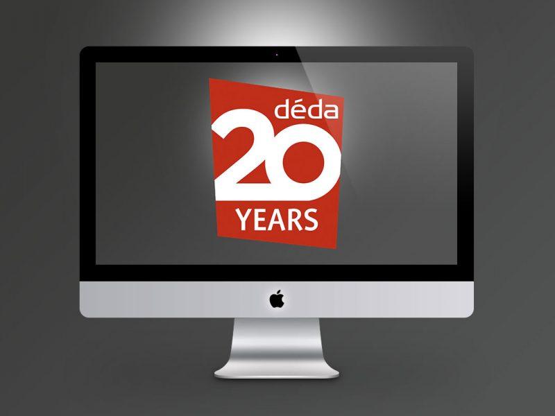 déda 20 Years  Branding deda 20 Years 800x600