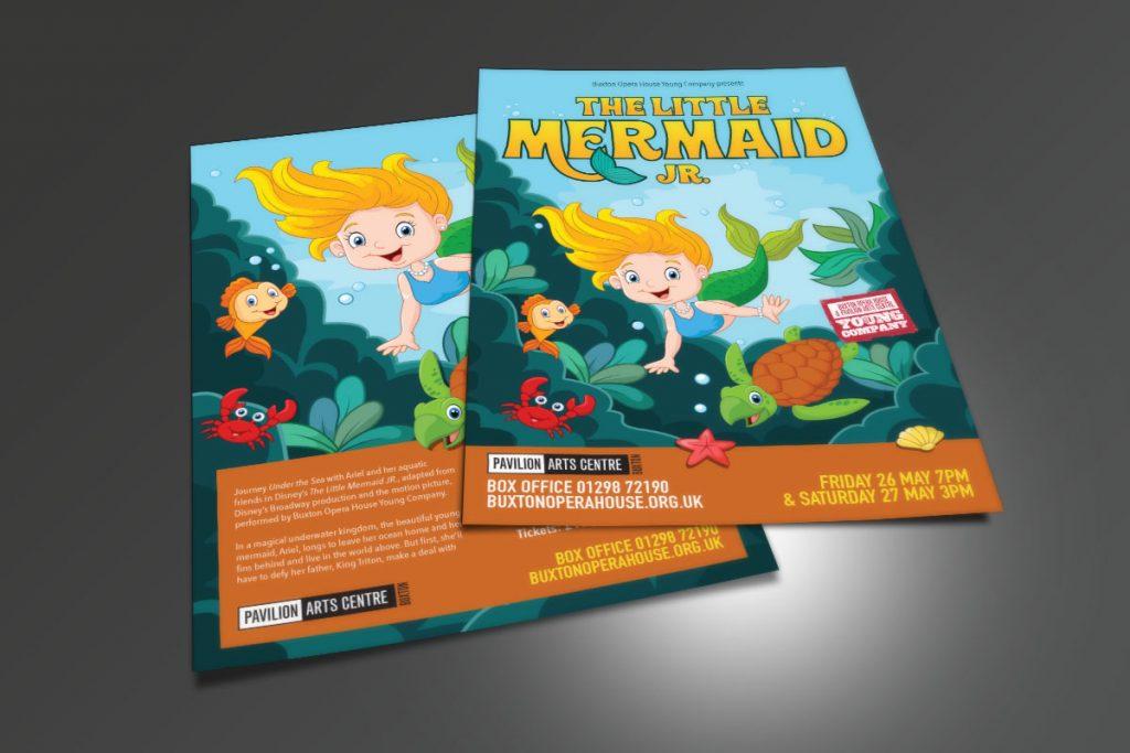 Buxton Opera House Little Mermaid leaflet