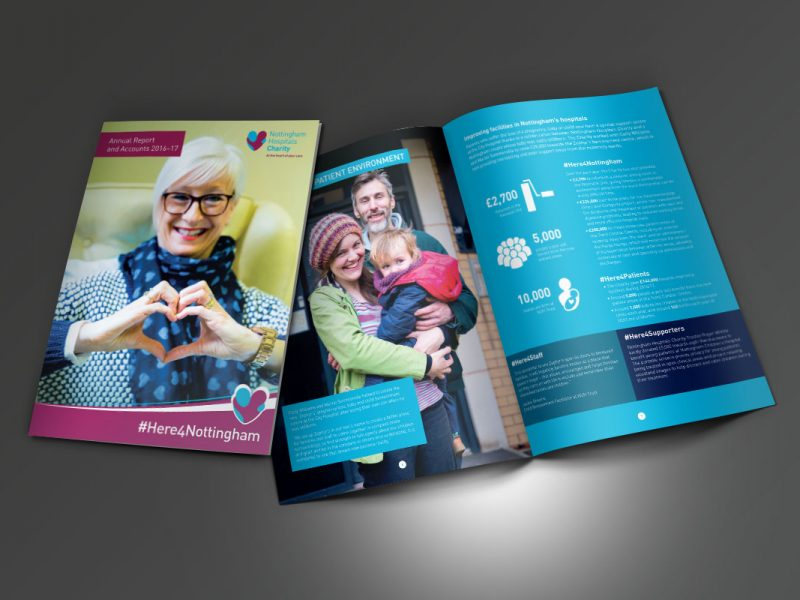 Nottingham Hospitals Charity  Brochures NHC Annual Report 2017 v1 800x600