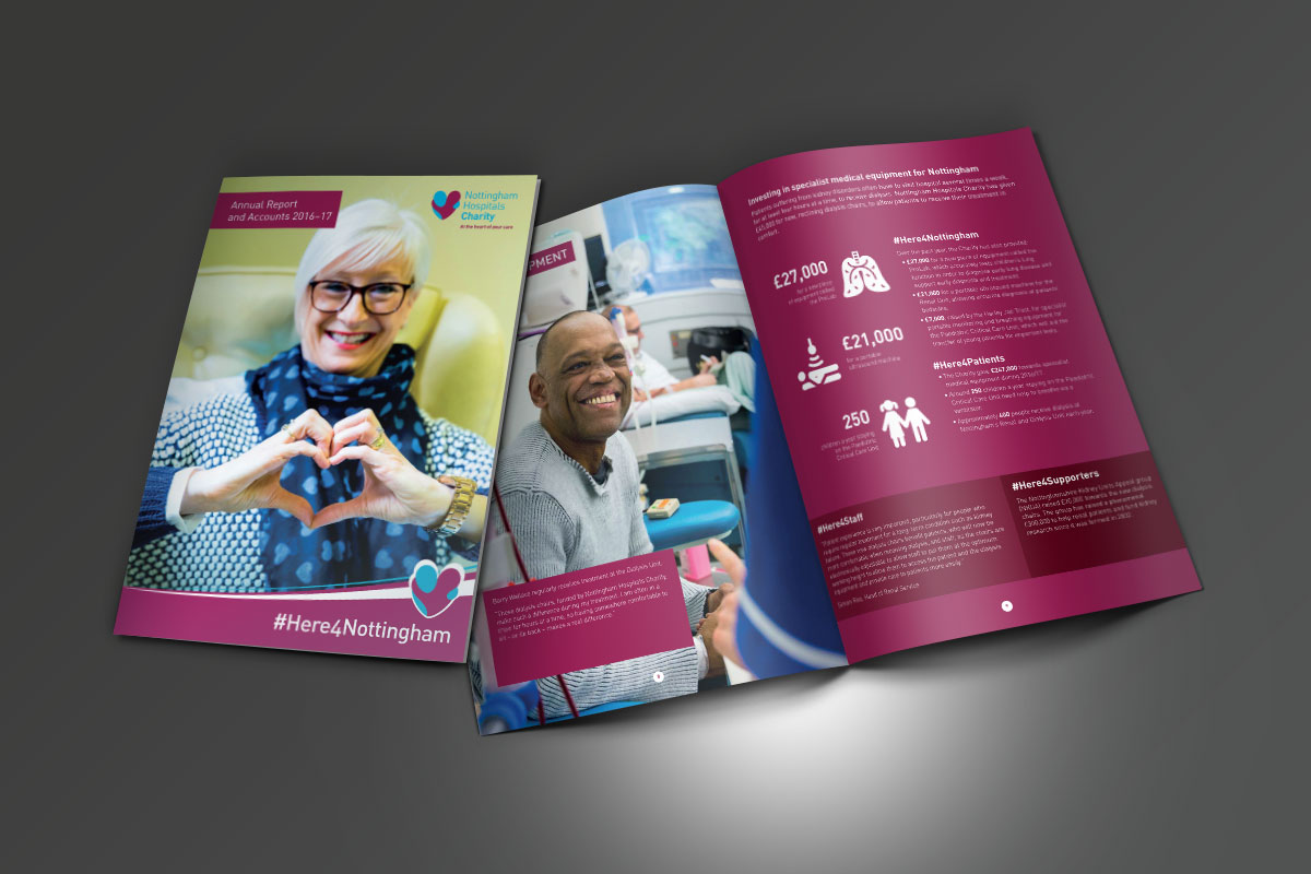 [object object] Nottingham Hospitals Charity NHC Annual Report 2017 v2