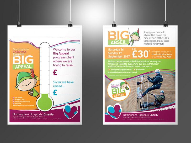 Nottingham Hospitals Charity Big Appeal posters  Posters NHC Big Appeal Posters v1 800x600