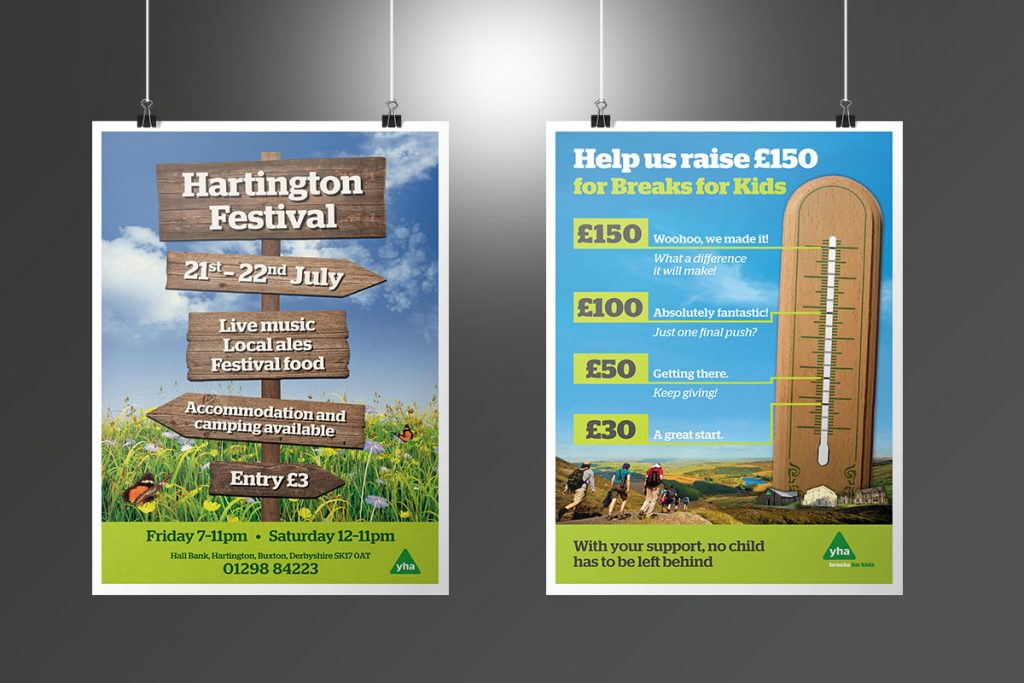 YHA event posters