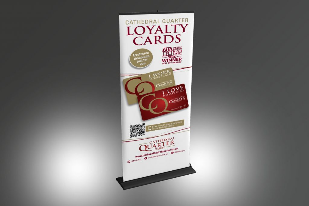 Cathedral Quarter Loyalty Card banner