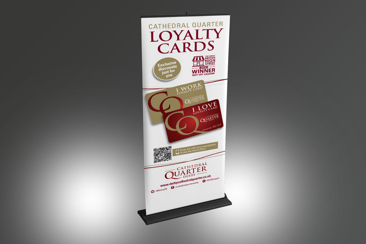 [object object] Cathedral Quarter Loyalty Card banner CQ Loyalty Card Banner v1