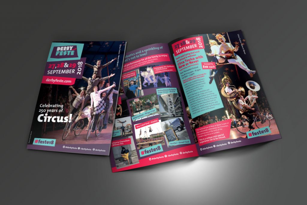 Festé 2018 A5 leaflet