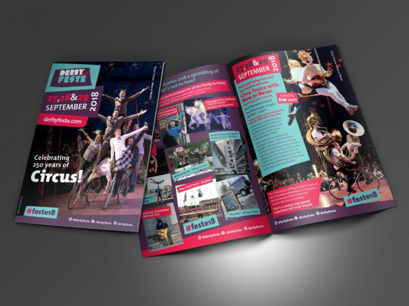 Festé 2018 A5 leaflet  Leaflets & Flyers Fest   A5 Leaflet 2018 800x600