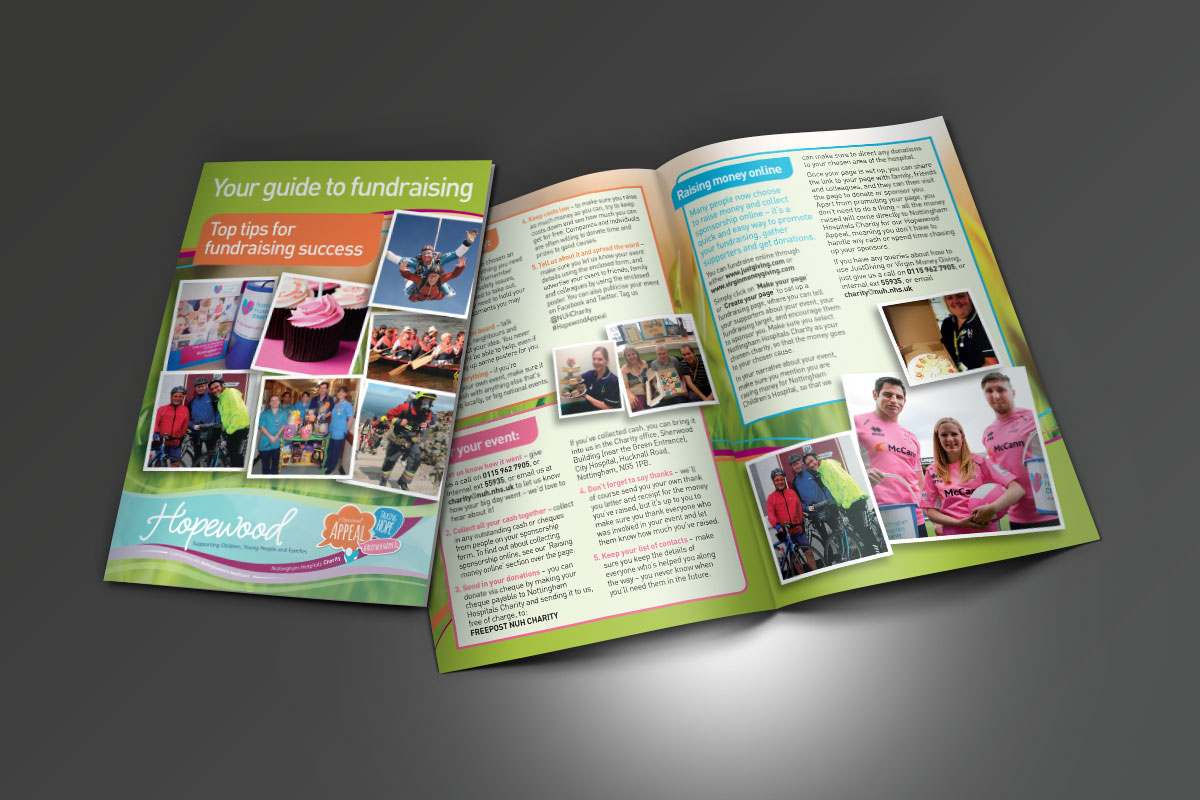 [object object] Nottingham Hospitals Charity Hopewood Appeal Fundraising Guide A5