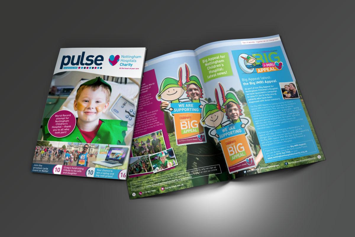 [object object] Nottingham Hospitals Charity NHC Pulse Summer 2018 v1