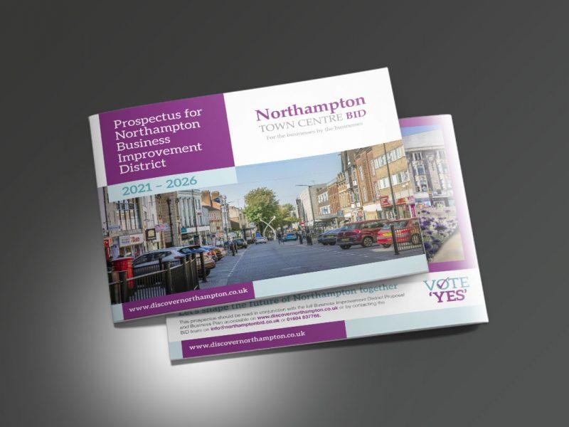 Oswestry BID proposal  Prospectus & Catalogues Northampton BID Prospectus Cover 800x600