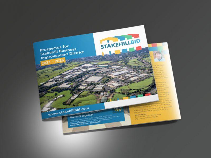 Stakehill BID proposal  Prospectus & Catalogues Stakehill BID Prospectus Cover 800x600